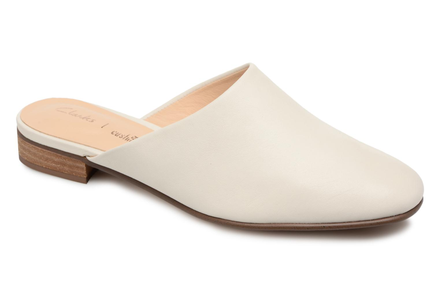 Mules & clogs Clarks Pure Blush White detailed view/ Pair view