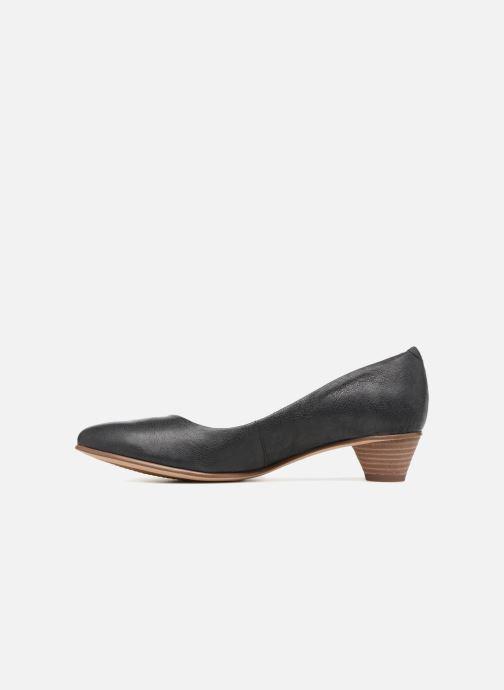 Zapatos de tacón Clarks Mena Bloom Negro vista de frente