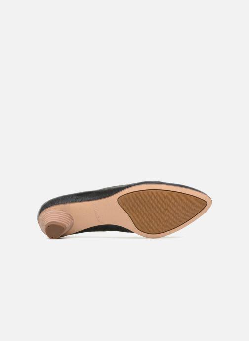 Zapatos de tacón Clarks Mena Bloom Negro vista de arriba