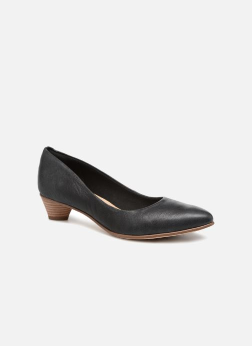 Zapatos de tacón Clarks Mena Bloom Negro vista de detalle / par