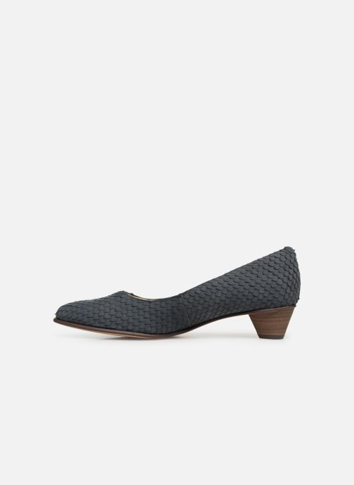 Zapatos de tacón Clarks Mena Bloom Azul vista de frente