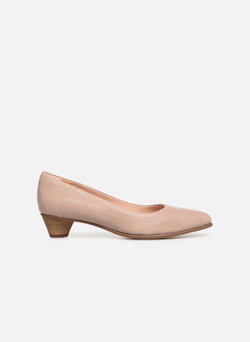 Zapatos de tacón Clarks Mena Bloom Beige vistra trasera
