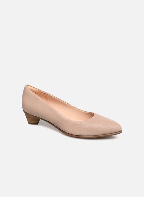 Zapatos de tacón Clarks Mena Bloom Beige vista de detalle / par