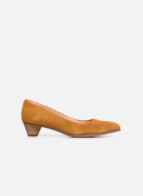Zapatos de tacón Clarks Mena Bloom Amarillo vistra trasera