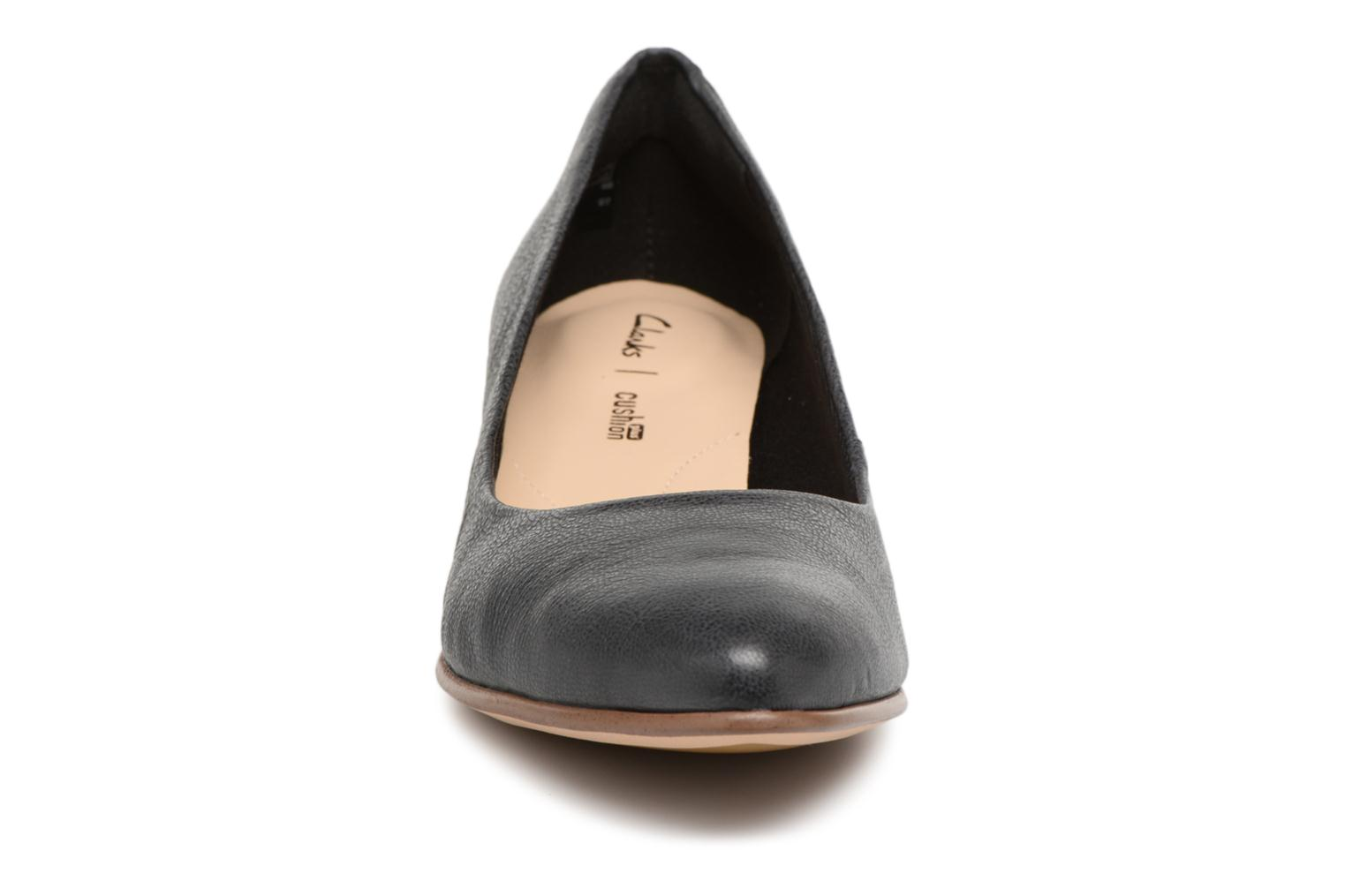 High heels Clarks Mena Bloom Black model view