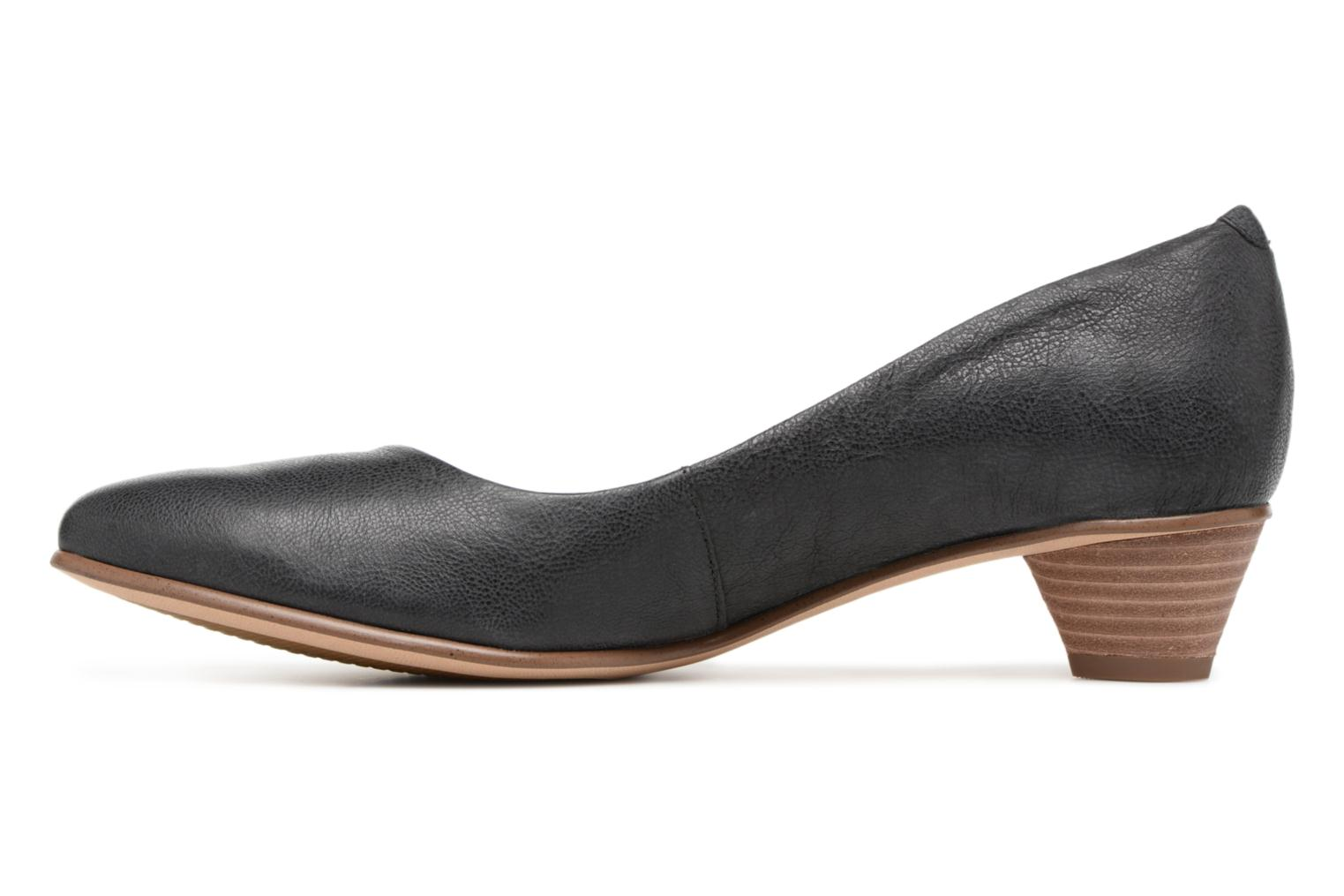 High heels Clarks Mena Bloom Black front view