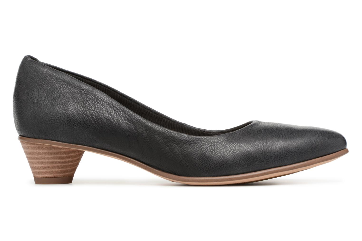 High heels Clarks Mena Bloom Black back view