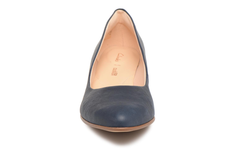 High heels Clarks Mena Bloom Blue model view