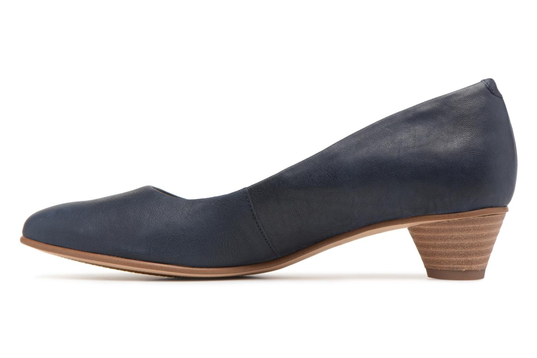 High heels Clarks Mena Bloom Blue front view
