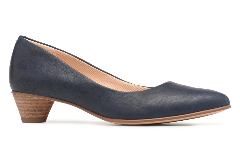 High heels Clarks Mena Bloom Blue back view