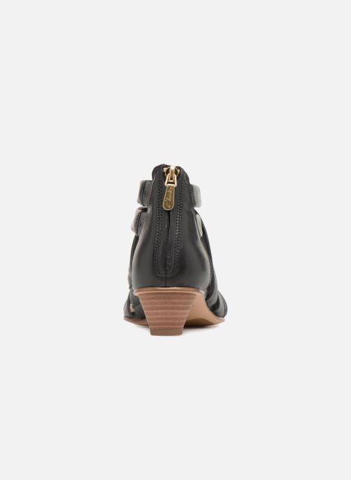 Sandaler Clarks Mena Silk Sort Se fra højre