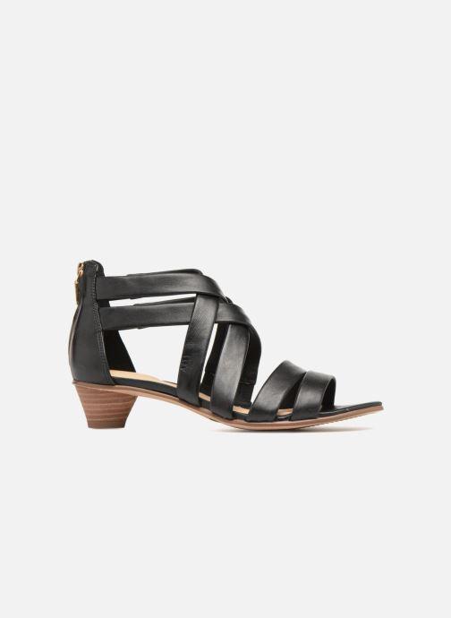 Sandales et nu-pieds Clarks Mena Silk Noir vue derrière