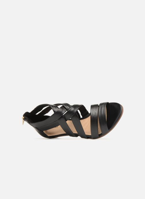 Sandali e scarpe aperte Clarks Mena Silk Nero immagine sinistra