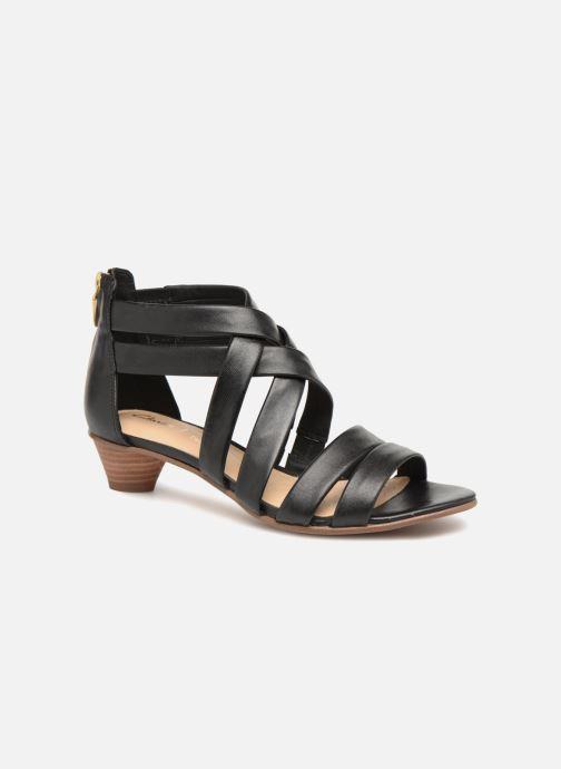 Sandaler Clarks Mena Silk Sort detaljeret billede af skoene