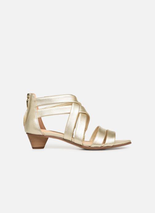 Sandales et nu-pieds Clarks Mena Silk Argent vue derrière