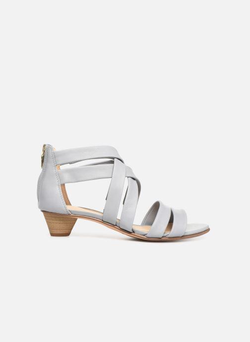 Sandales et nu-pieds Clarks Mena Silk Gris vue derrière
