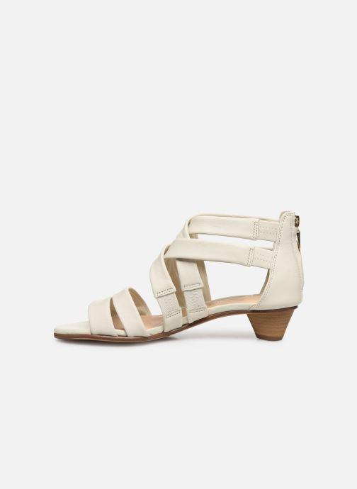 Sandales et nu-pieds Clarks Mena Silk Blanc vue face