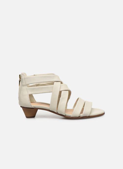 Sandales et nu-pieds Clarks Mena Silk Blanc vue derrière