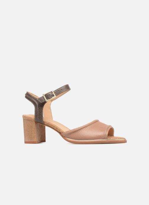 Sandales et nu-pieds Clarks Ellis Clara Beige vue derrière