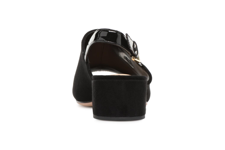 Sandales et nu-pieds Clarks Orabella Ivy Noir vue droite