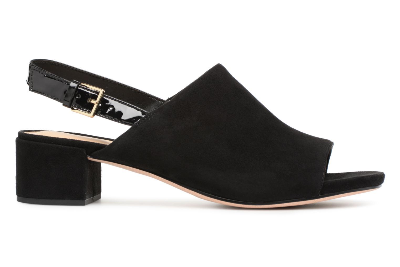 Sandales et nu-pieds Clarks Orabella Ivy Noir vue derrière