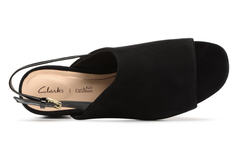 Sandales et nu-pieds Clarks Orabella Ivy Noir vue gauche