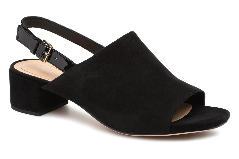 Sandales et nu-pieds Clarks Orabella Ivy Noir vue détail/paire