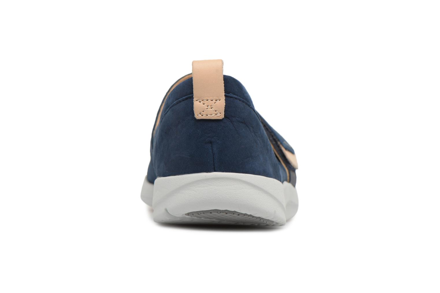 Ballet pumps Clarks Tri Carrie Blue view from the right