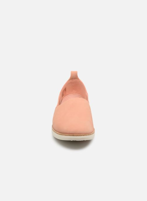 Baskets Clarks Tri Curve Rose vue portées chaussures