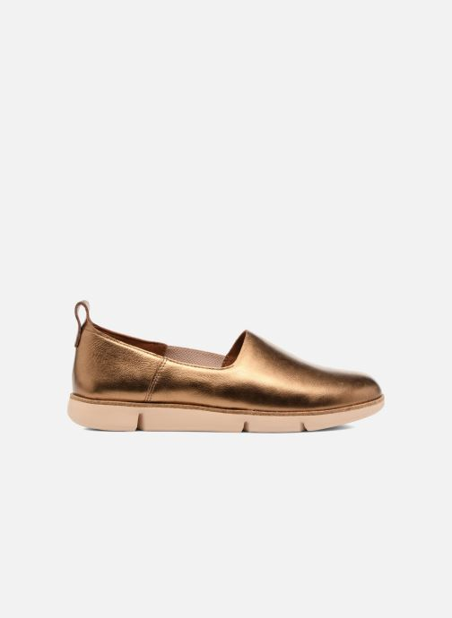 Trainers Clarks Tri Curve Bronze and Gold back view