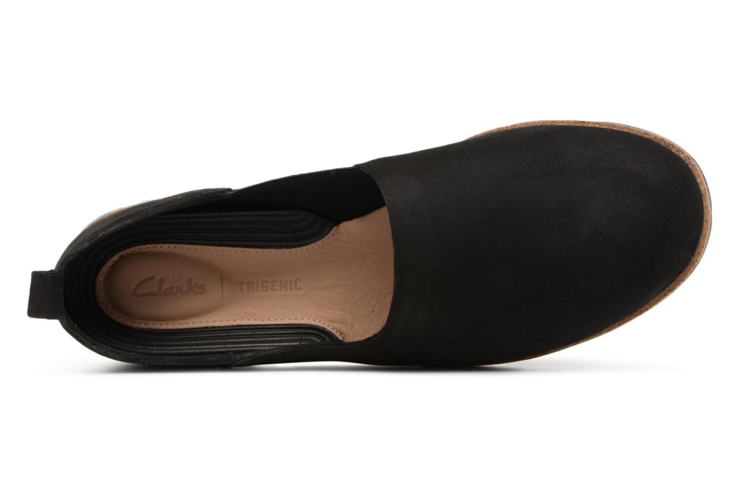 Trainers Clarks Tri Curve Black view from the left