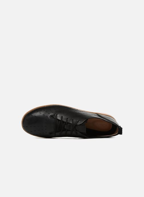 Zapatos con cordones Clarks Tri Etch Negro vista lateral izquierda