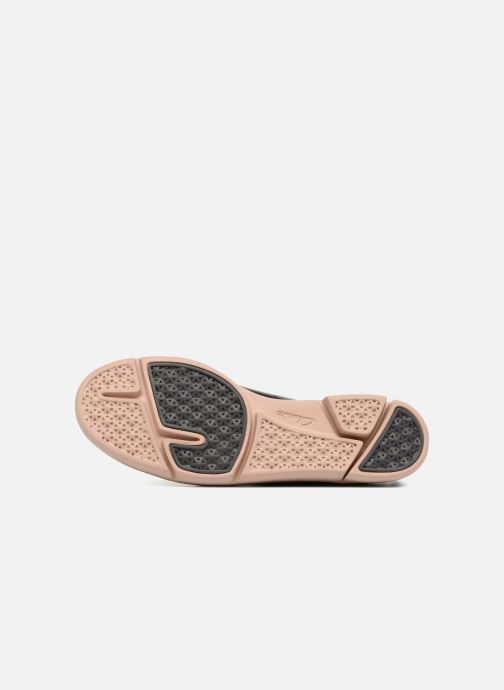 Zapatos con cordones Clarks Tri Etch Negro vista de arriba