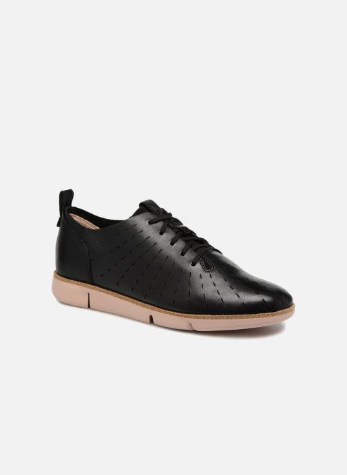 Zapatos con cordones Clarks Tri Etch Negro vista de detalle / par