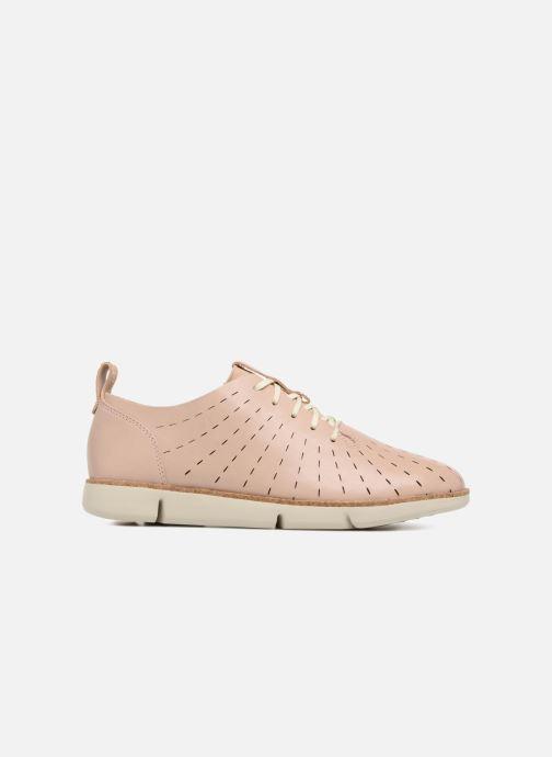 Chaussures à lacets Clarks Tri Etch Beige vue derrière