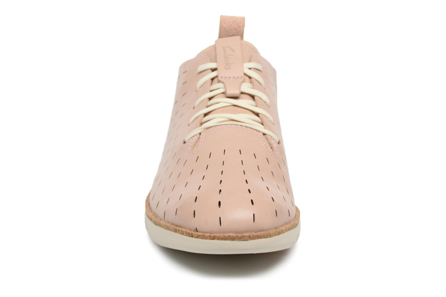 Lace-up shoes Clarks Tri Etch Beige model view
