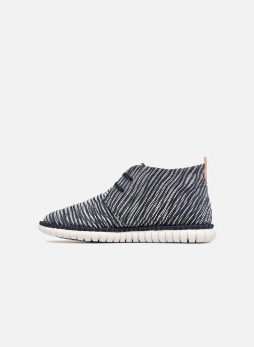 Zapatos con cordones Clarks MZT Liberty Azul vista de frente
