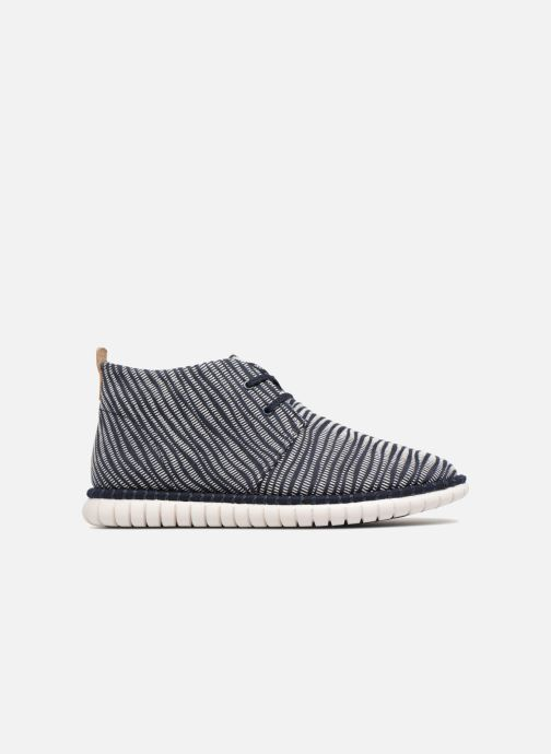 Zapatos con cordones Clarks MZT Liberty Azul vistra trasera