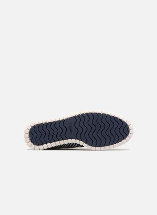 Chaussures à lacets Clarks MZT Liberty Bleu vue haut