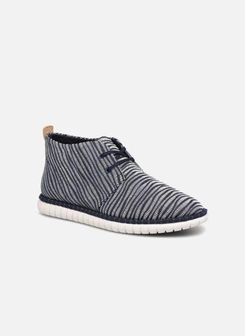 Chaussures à lacets Clarks MZT Liberty Bleu vue détail/paire