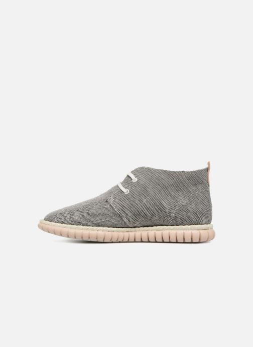Chaussures à lacets Clarks MZT Liberty Gris vue face