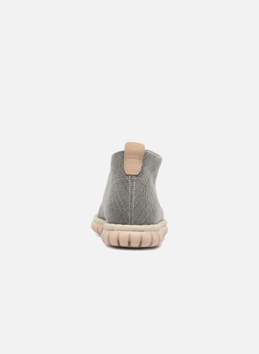 Chaussures à lacets Clarks MZT Liberty Gris vue droite