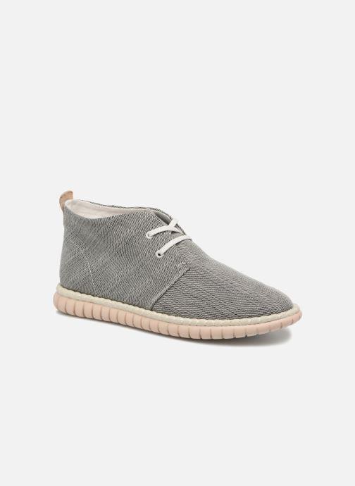 Chaussures à lacets Clarks MZT Liberty Gris vue détail/paire