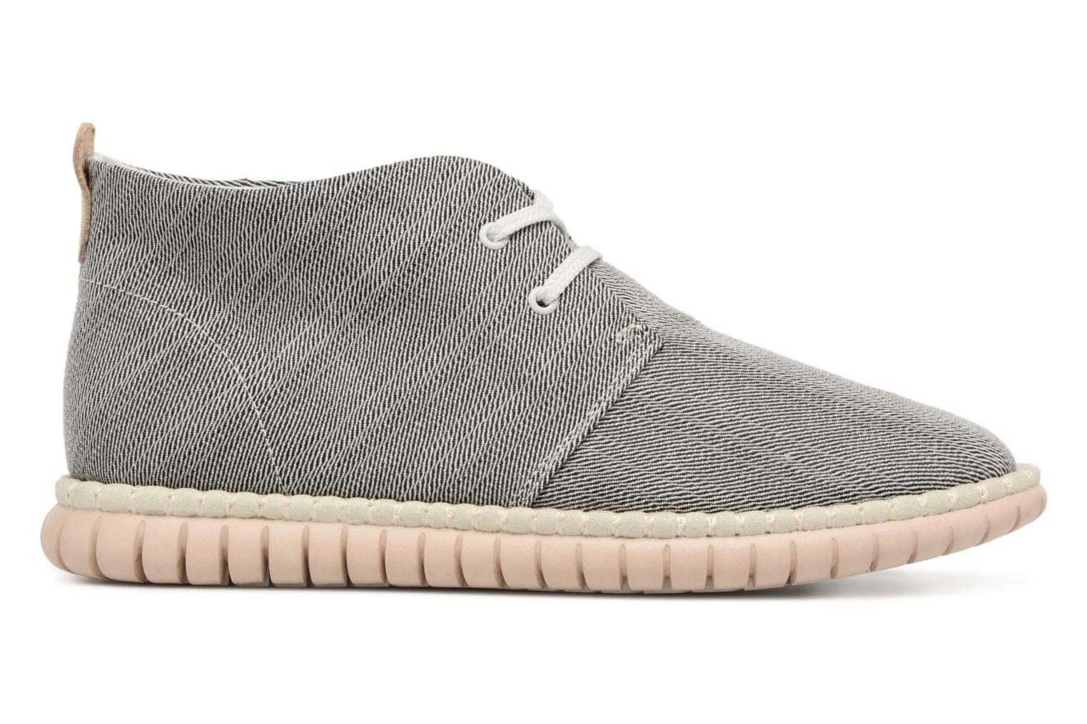 Lace-up shoes Clarks MZT Liberty Grey back view