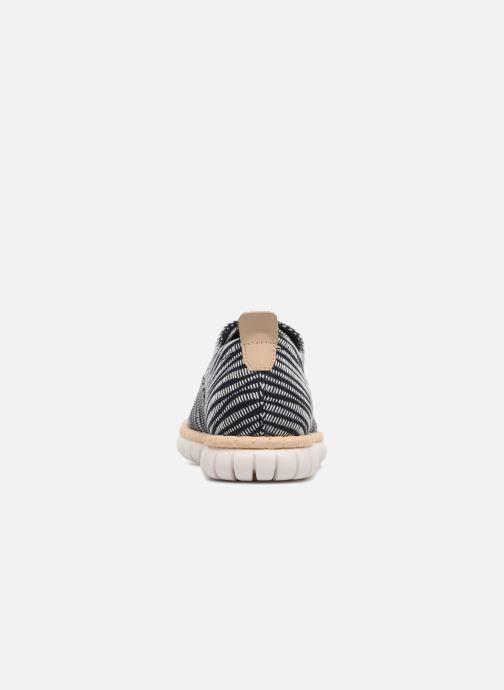 Chaussures à lacets Clarks MZT Blithe Bleu vue droite