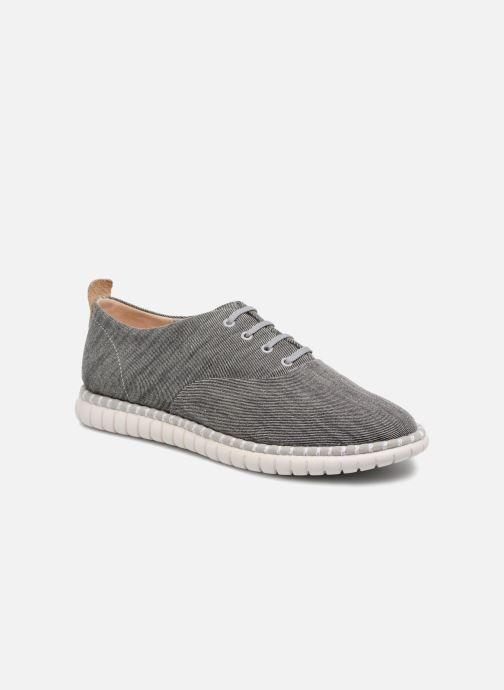 Chaussures à lacets Clarks MZT Blithe Bleu vue détail/paire