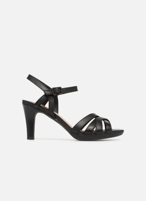 Sandales et nu-pieds Clarks Adriel wavy Noir vue derrière