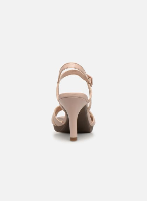 Sandales et nu-pieds Clarks Adriel wavy Rose vue droite