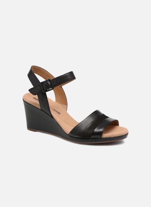 3d8af286ecde85 Clarks Lafley aletha (Black) - Sandals chez Sarenza (320076)