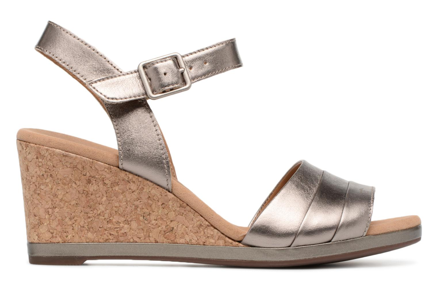Sandals Clarks Lafley aletha Bronze and Gold back view